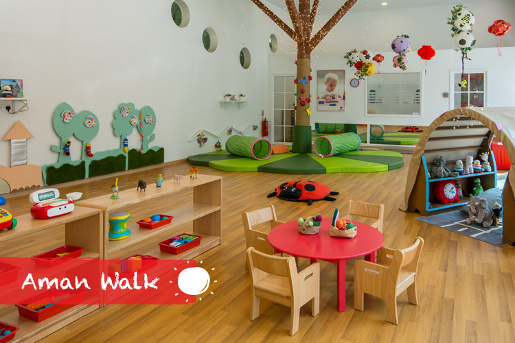 Preschools in Aman Walk